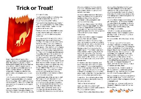 Trick or Treat Story
